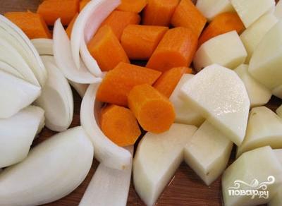 Щавелевый суп вегетарианский - фото шаг 1