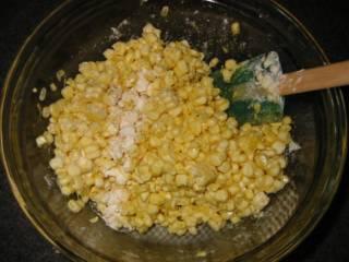 Оладьи из кукурузы - фото шаг 5