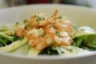 Салат с креветками Вкусный