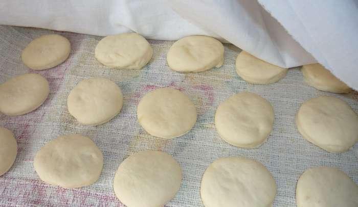 Тесто для баурсаков фото