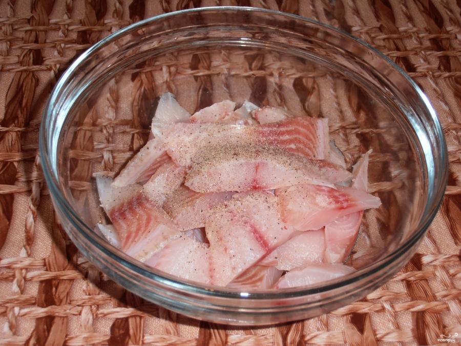 Рыба с морковкой  - фото шаг 1