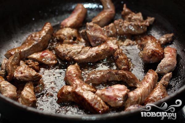 Тушеное мясо - фото шаг 2