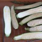 Рецепт Цуккини, фаршированный томатом и стручковой фасолью