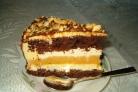 """Торт """"Сникерс"""" без выпекания"""
