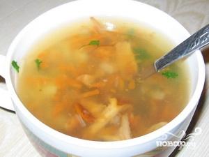 Суп из замороженных лисичек - фото шаг 5