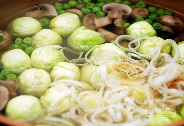 Овощной суп без картошки - фото шаг 4