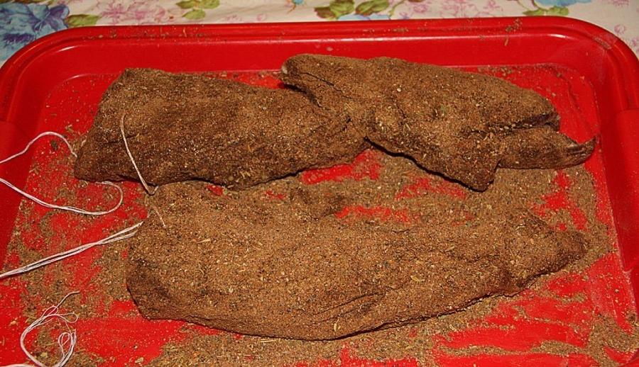 Бастурма из говядины - фото шаг 3