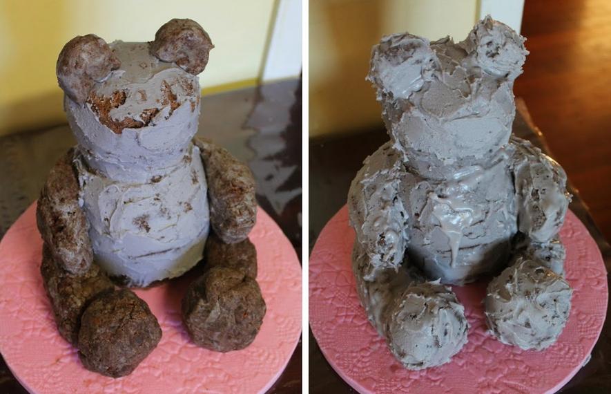Торт на день рождения мальчику 4 года - фото шаг 5