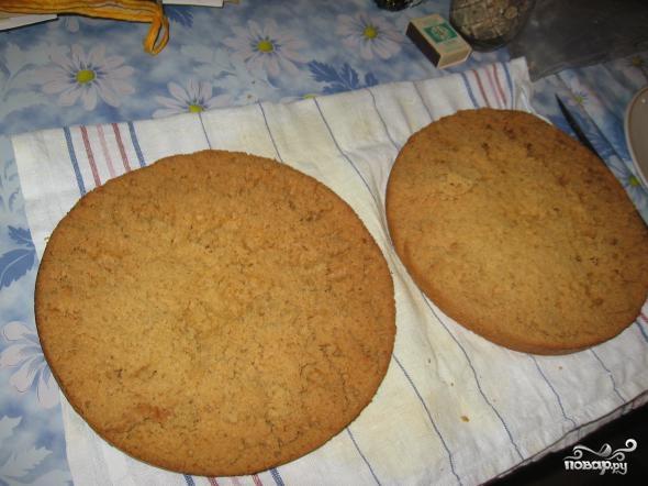 Медовый торт на скорую руку - фото шаг 7