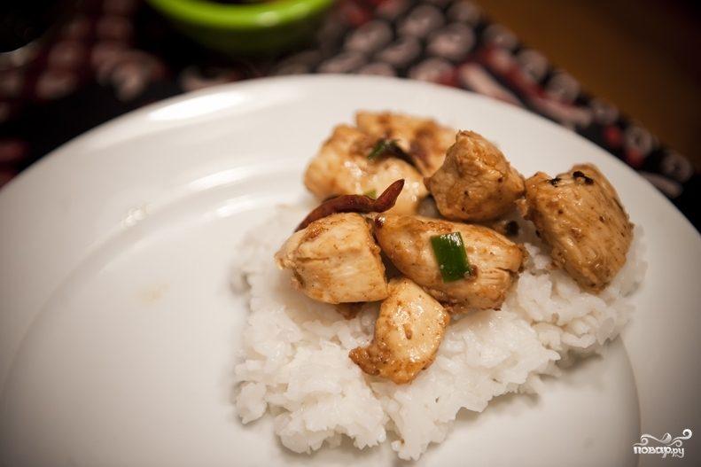 Курица в соусе по-китайски