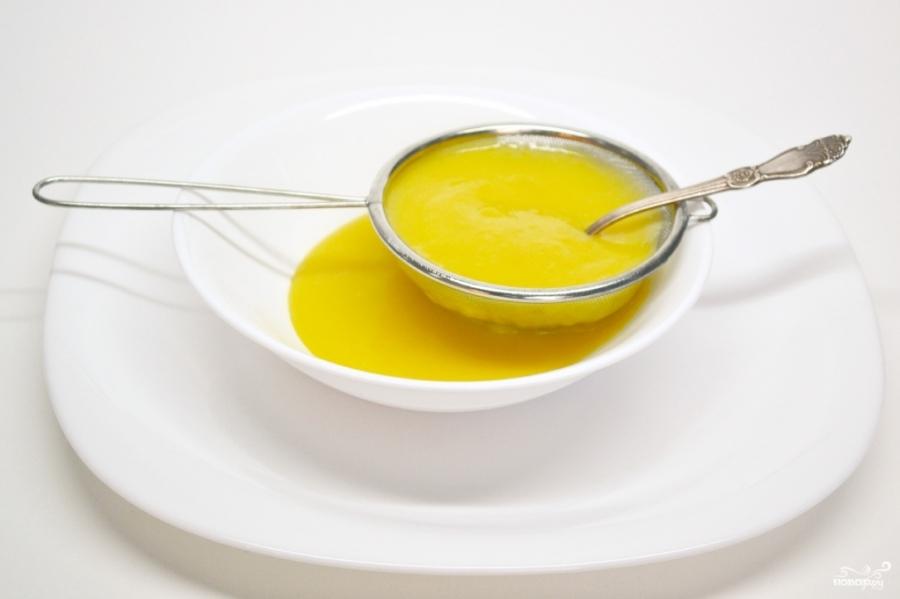 Бисквит с апельсиновым кремом - фото шаг 5