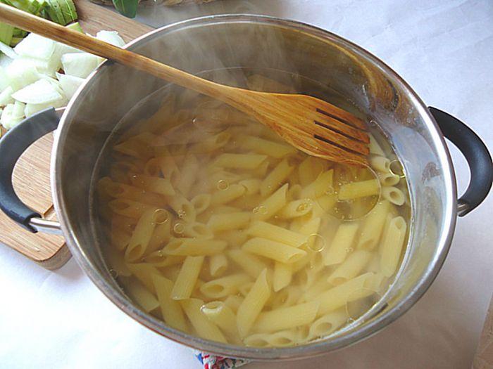 Макароны с кабачками - фото шаг 4