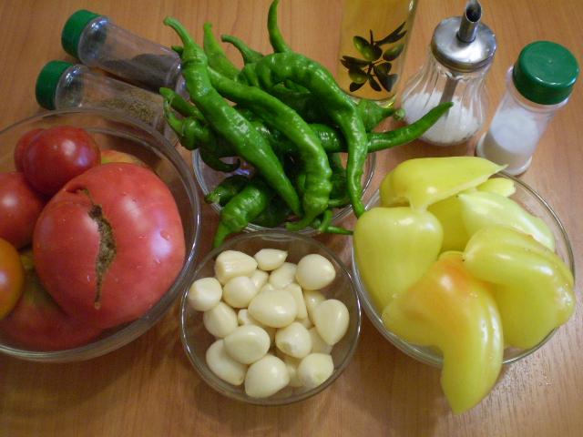 Рецепт Аджика домашняя острая