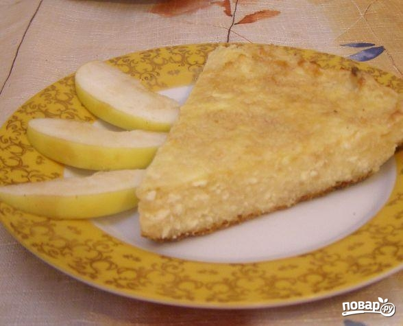 Запеканка с яблоками