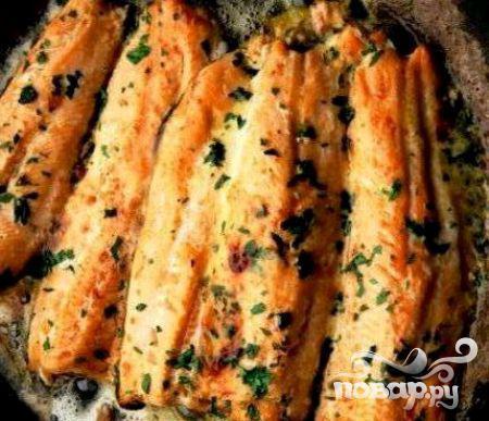 Рецепт Жареная камбала с чили