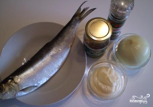 Рецепт Селедка с луком
