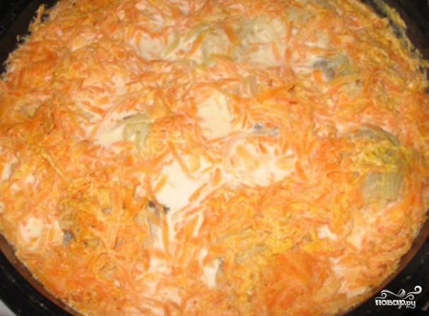 рецепты салатов с морковью
