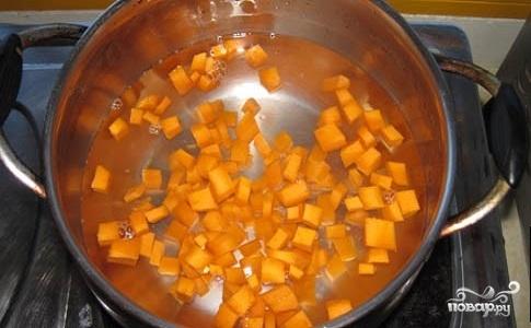 Тыквенный суп для похудения - фото шаг 2