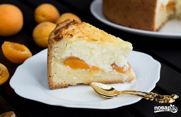 Королевский творожный пирог