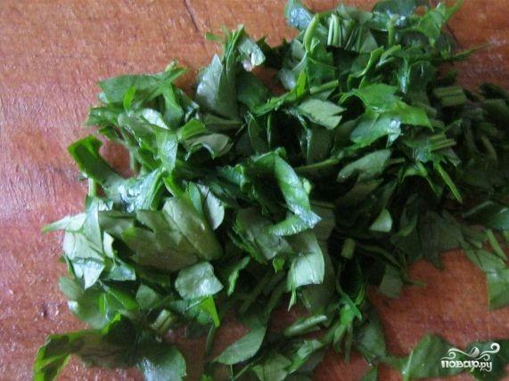 Салат с соленой семгой - фото шаг 3