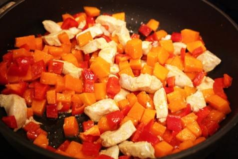 Рецепт Паста с овощами в сливочном соусе