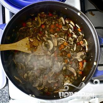 Грибной суп с фарро - фото шаг 3