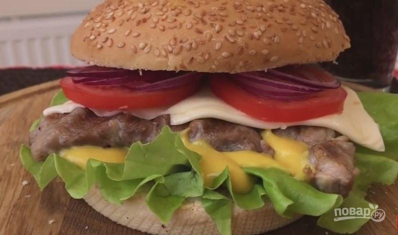 Как сделать сэндвичи в домашних 245