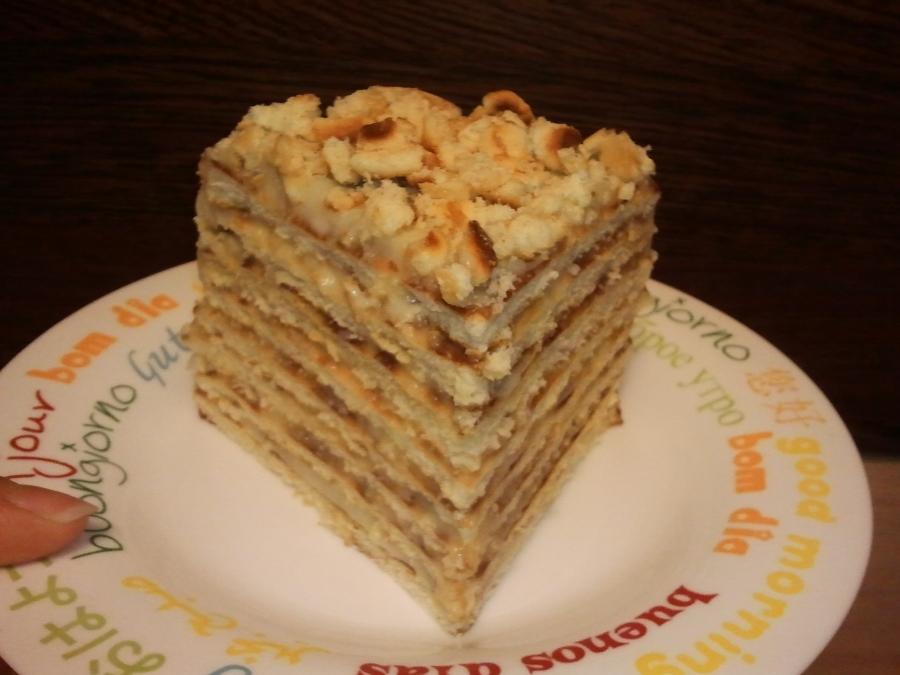 Пирог на сковороде сладкий - фото шаг 9