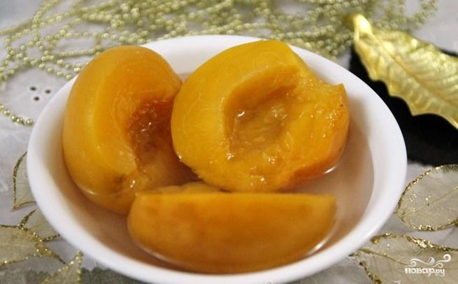 Закатка персиков