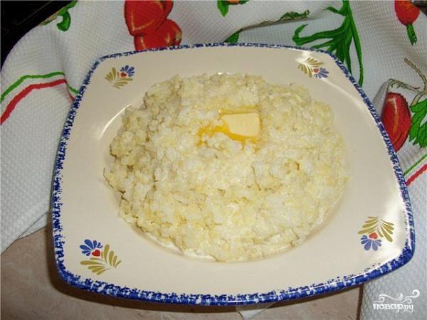 """Рецепт Каша """"Дружба"""""""