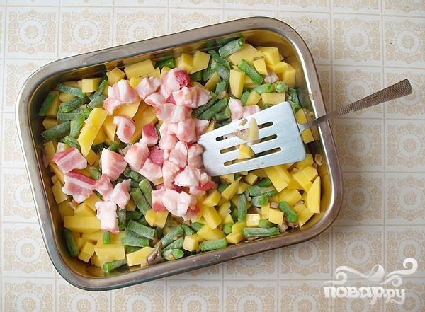 Запеченные свиные ребрышки с овощами - фото шаг 4
