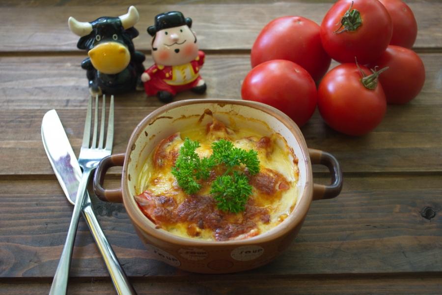 Грудка с помидорами и сыром - фото шаг 6