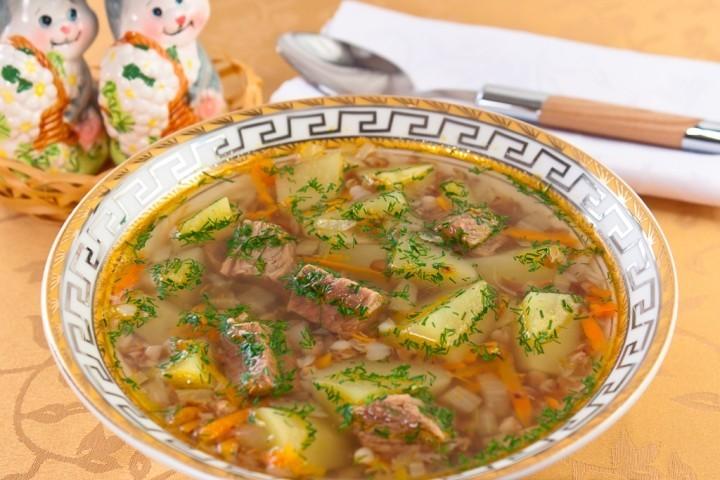 Приготовить суп с тушёнкой в мультиварке