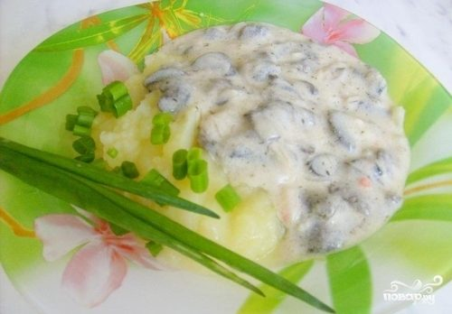 Паста карбонара с грибами рецепт фото