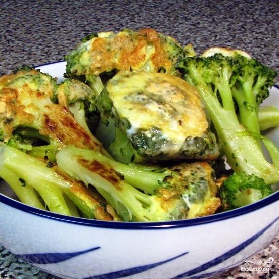 Жареная брокколи - фото шаг 8
