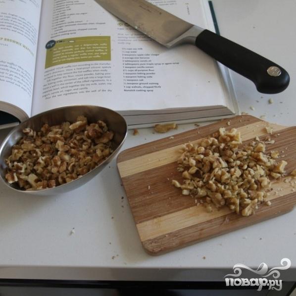 Бананово-ореховые вафли - фото шаг 1