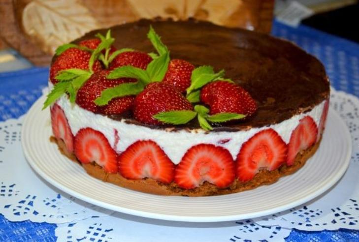 Диетический торт на день рождения рецепт с фото
