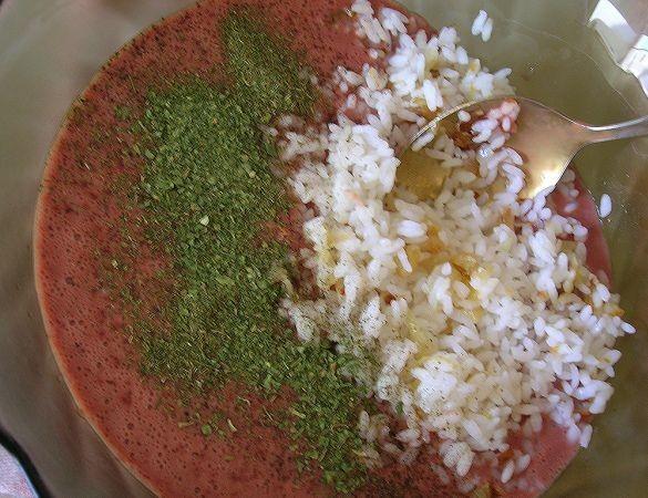 Запеканка из печени с рисом - фото шаг 8