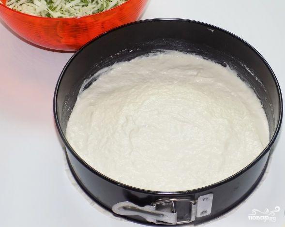 Пирог с капустой заливной на кефире - фото шаг 7