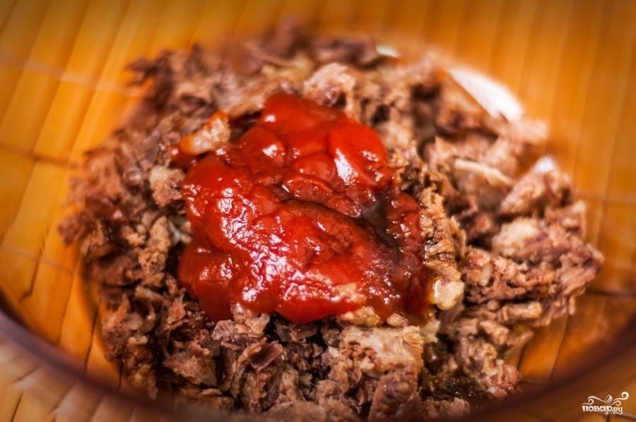 Рецепт Сэндвич с говядиной