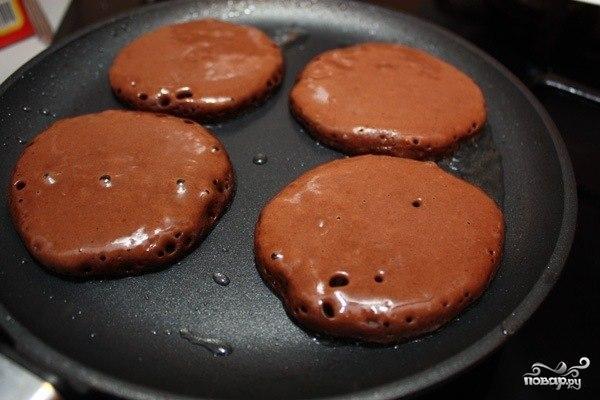 Шоколадные оладьи - фото шаг 3