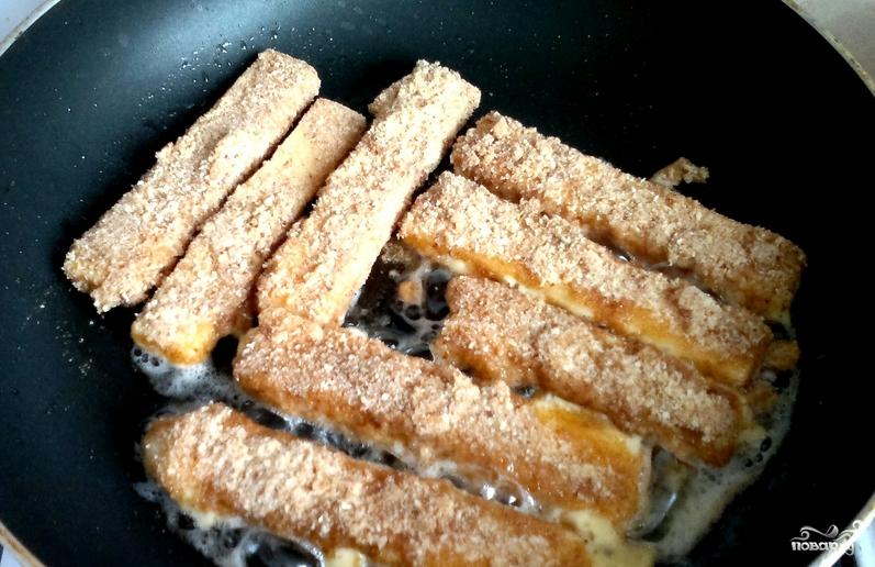 Сырные палочки в панировке - фото шаг 5