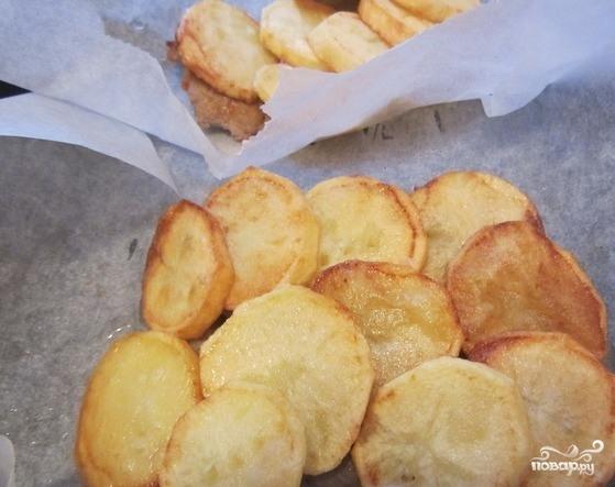 Картофель с грибами и мясом - фото шаг 5
