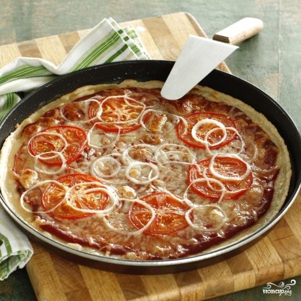 Пицца тонкая - фото шаг 5