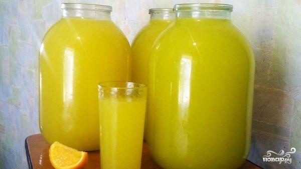 Апельсиновый лимонад - фото шаг 4
