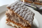 Торт Минутка из печенья