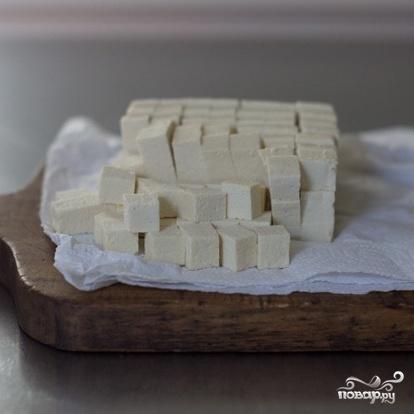 Запеченный сквош с тофу - фото шаг 3