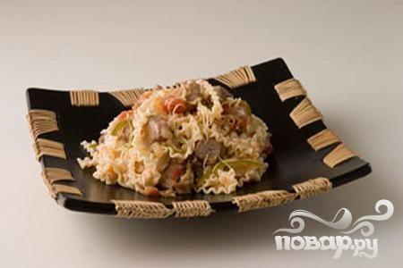 Рецепт Свинина с широкой лапшой