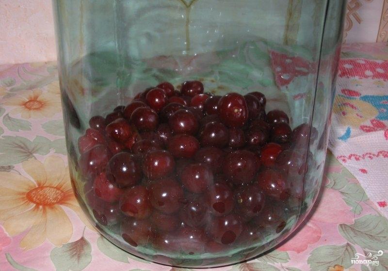 Как сделать вишневый компот в 3 литровых банках
