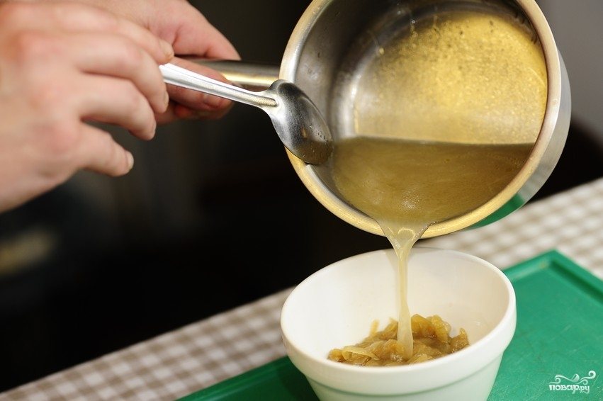 Суп из лука - фото шаг 8